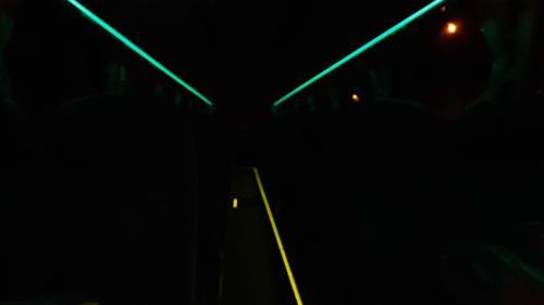 Neoplan Starliner - Jiří Ráž - Noční osvětlení interiéru