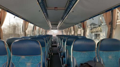 Neoplan Starliner - Jiří Ráž - Interiér